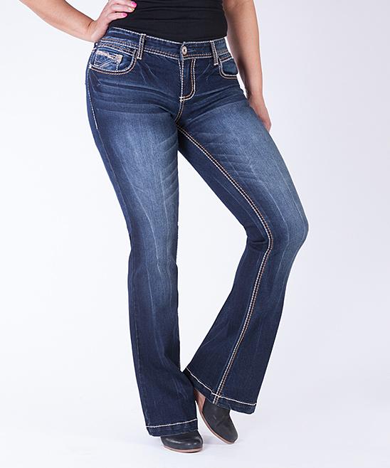 05e9bc2507f Ariya Jeans Somerset Fit   Flare Curvy Regular Jeans - Plus