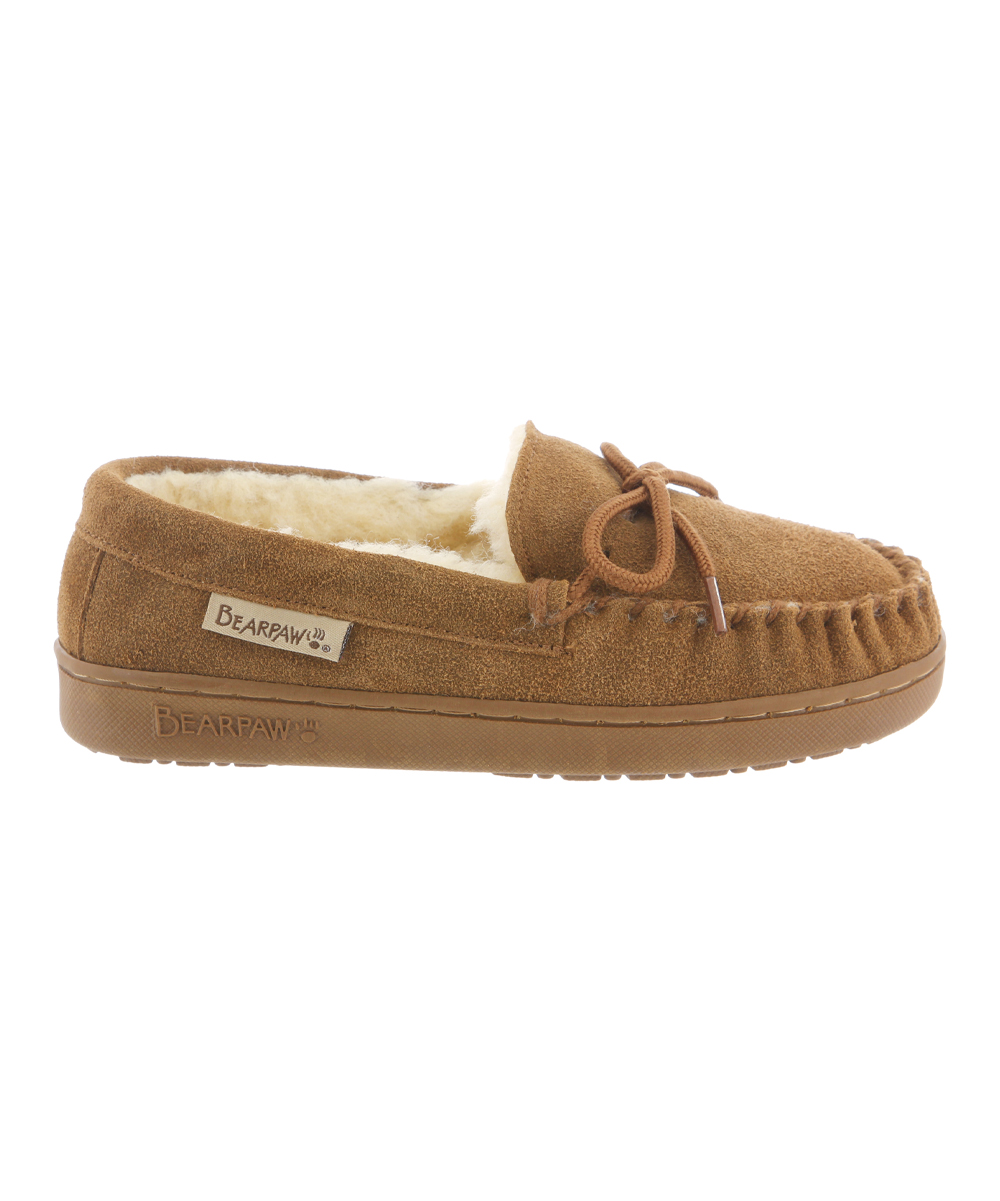 b86bc5b6a2d BEARPAW Hickory Moc Suede Slipper - Kids