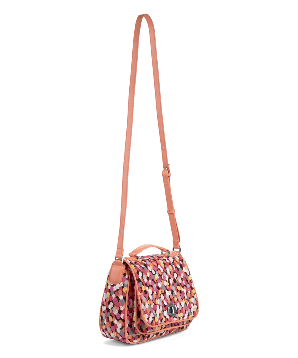 a2963abdaf Vera Bradley Pixie Confetti Turn-Lock Crossbody Bag