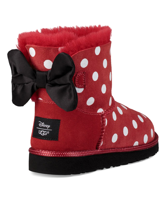 2a61d3de805 UGG® Minnie Mouse Red Sweetie Suede Bow Boot - Kids