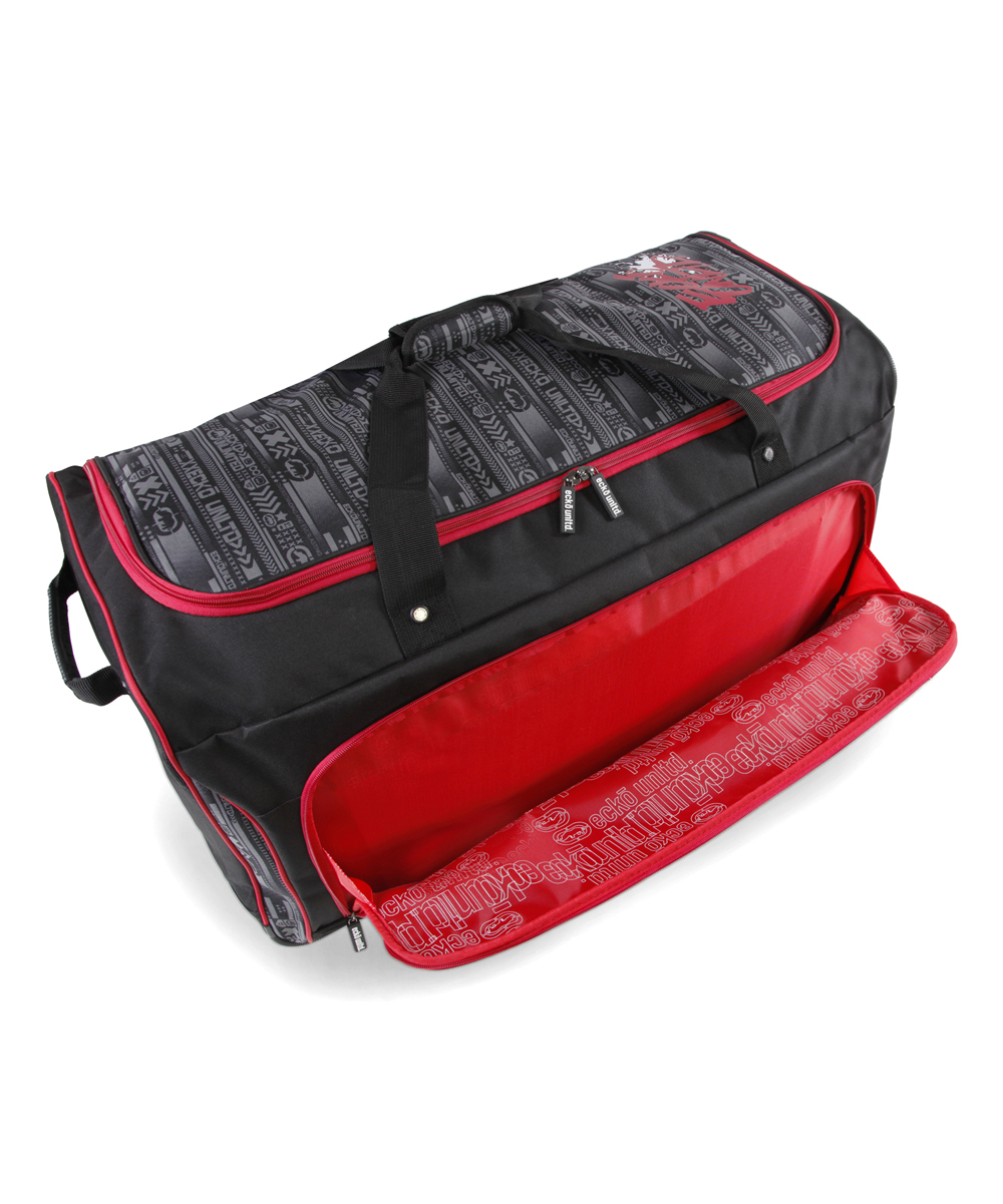 1f9e1fde870e Perry Ellis Red Tagger Large 32 Rolling Duffel Bag