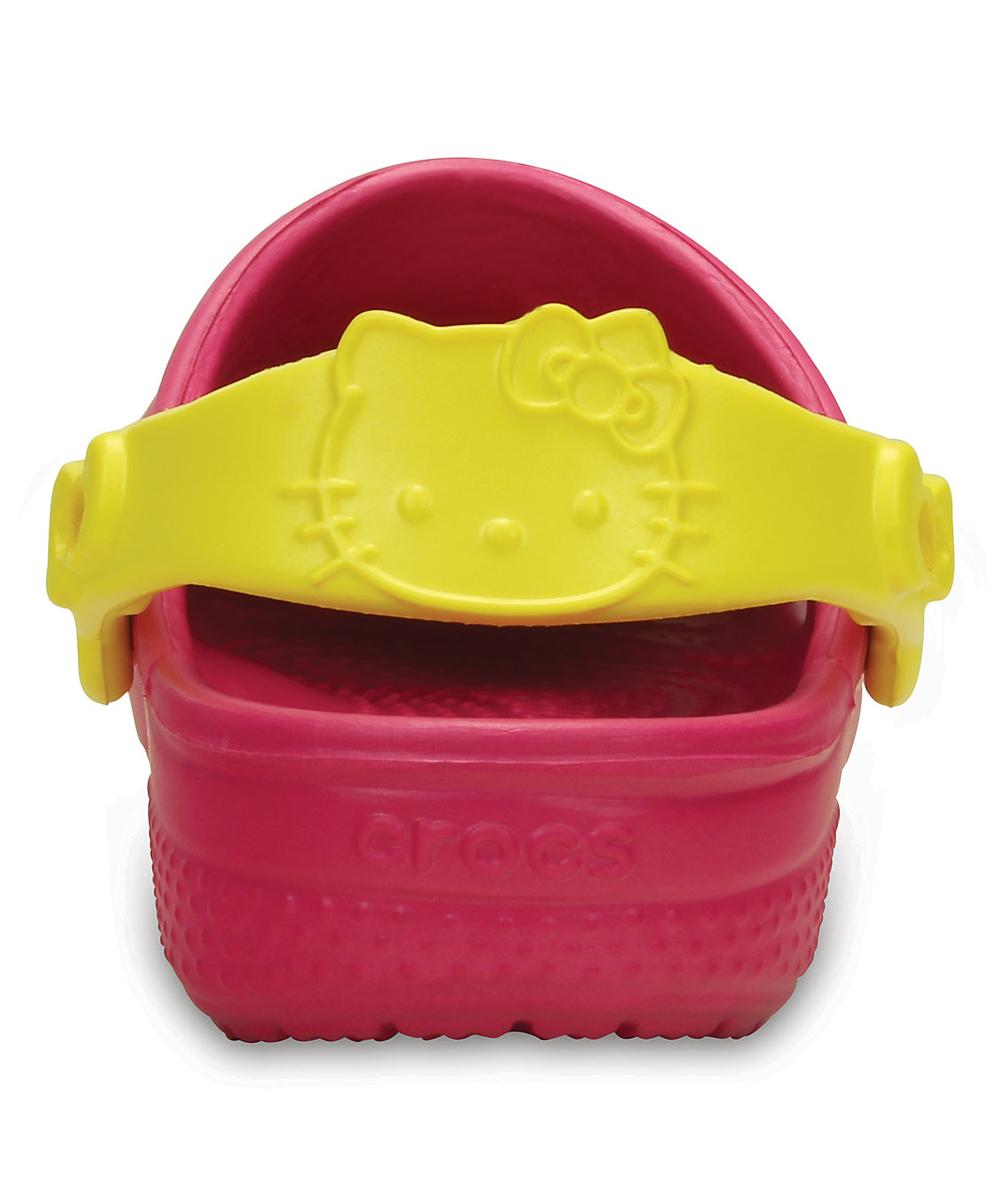 d8efea9ddd503 Crocs Hello Kitty® Candy Pink Rainbow Clog - Kids
