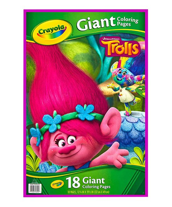 Trolls Giant Coloring Pages