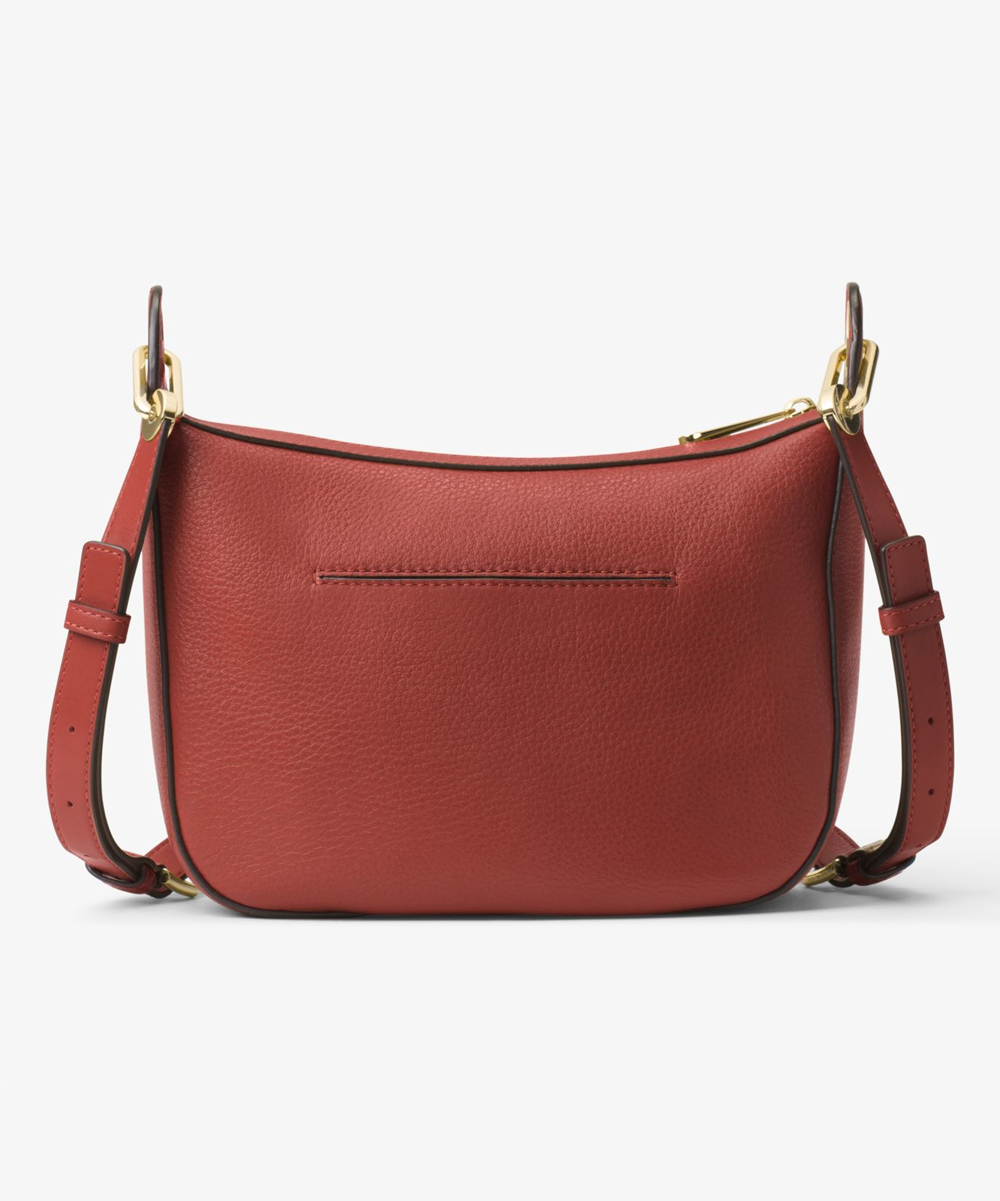 452527bc87d2 Michael Kors Brick Raven Medium Leather Messenger Bag | Zulily