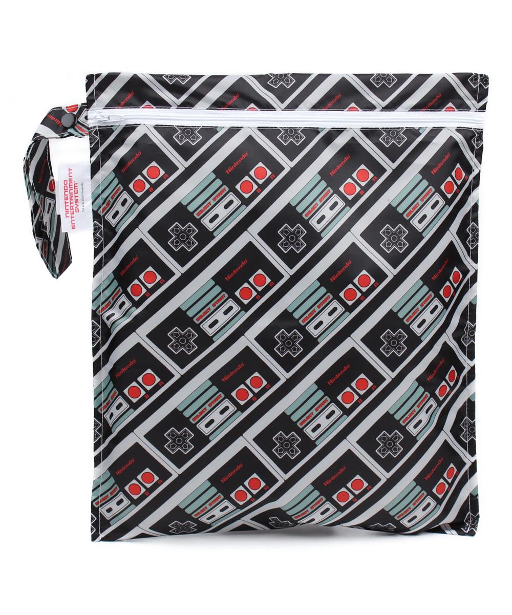 Bumkins  Wet Diaper Bags NES - NES Controller Wet Bag