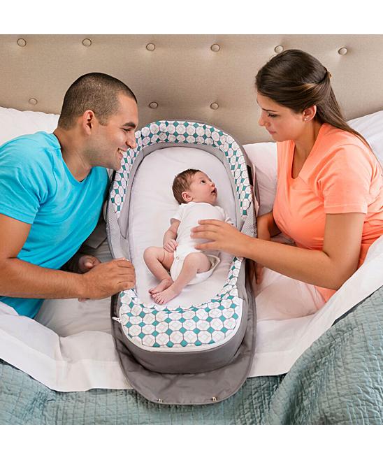 64558ab53 Baby Delight Diamond Lattice Snuggle Nest Traveler BL Infant Sleeper ...