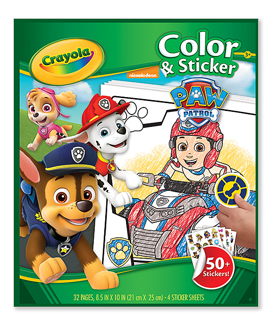PAW Patrol Sticker Activity Book