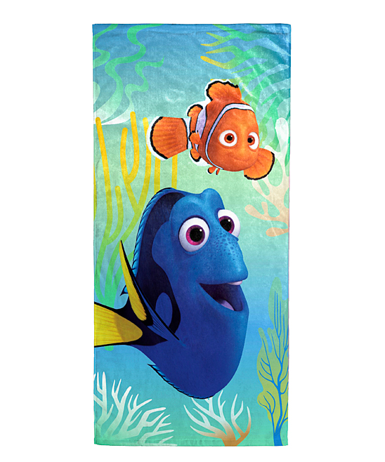 Jay Franco and Sons Finding Dory Wavy Days Beach Towel