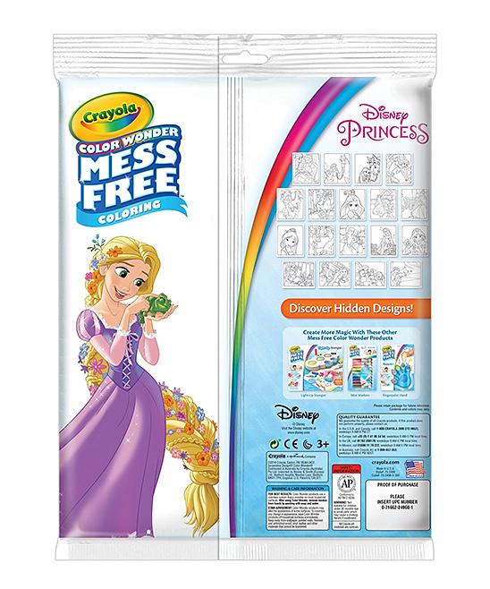 Crayola Disney Princess Color Wonder Coloring Pad & Markers | zulily