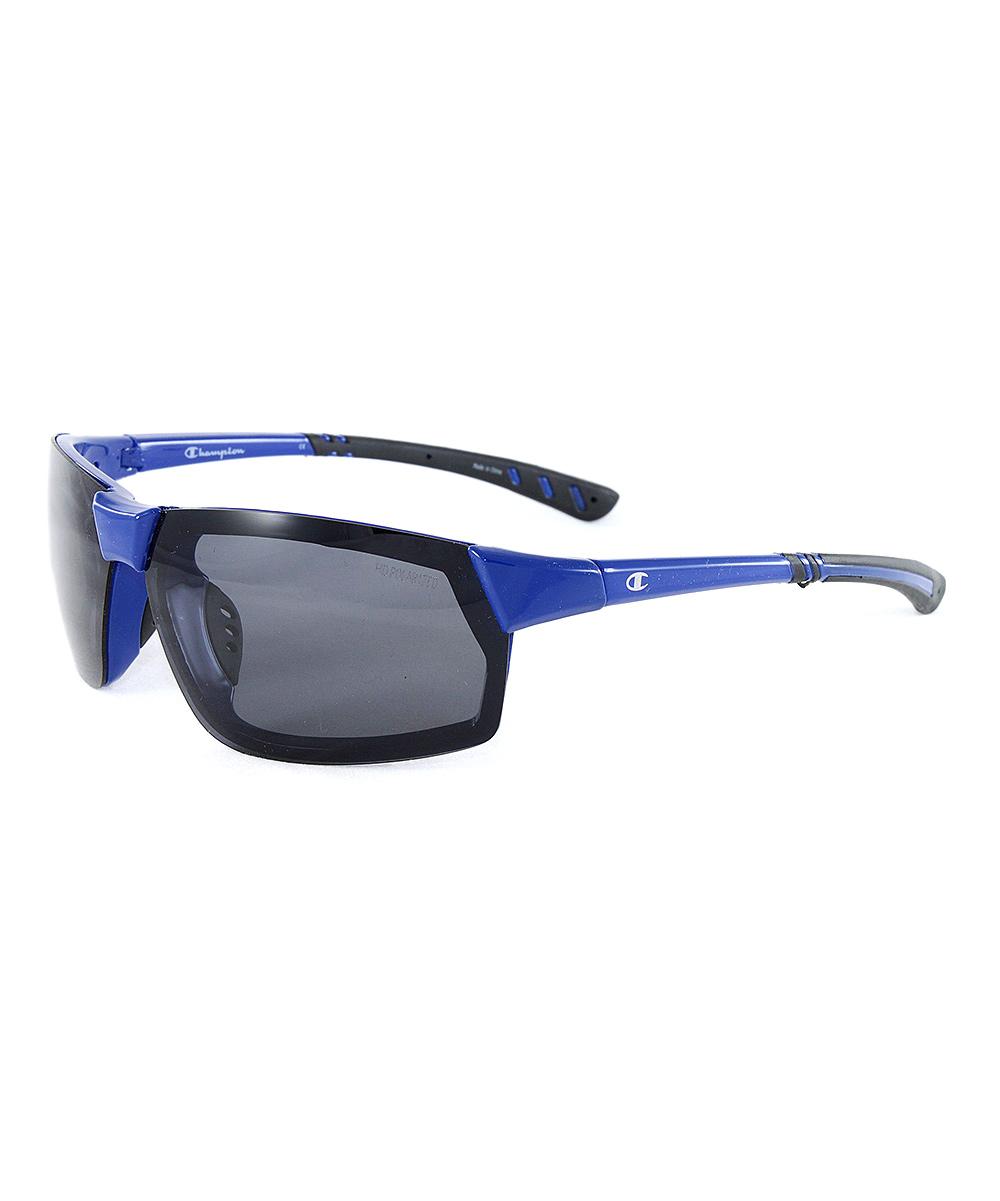 Champion Blue   Gray Polarized Sport Sunglasses - Men  c8b0b37f5
