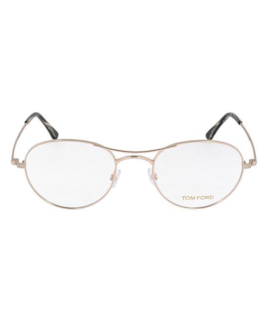 0f481809105a Tom Ford Rose Gold Thin Aviator Eyeglasses