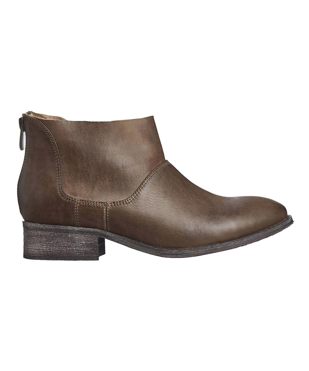 b709f5274a6 love this product Khaki Leather Ankle Boot - Women