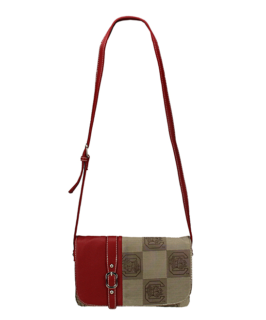 South Carolina Gamecocks Signature Line Crossbody Bag
