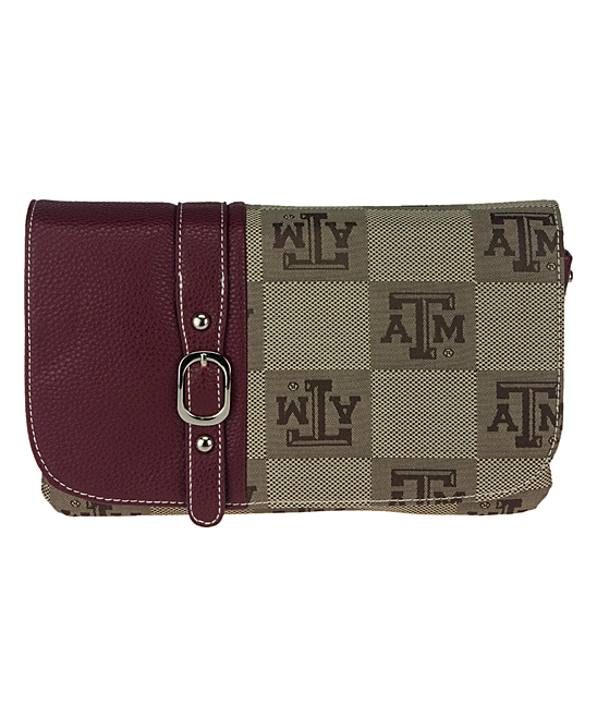 Texas A&M Aggies Signature Line Crossbody Bag