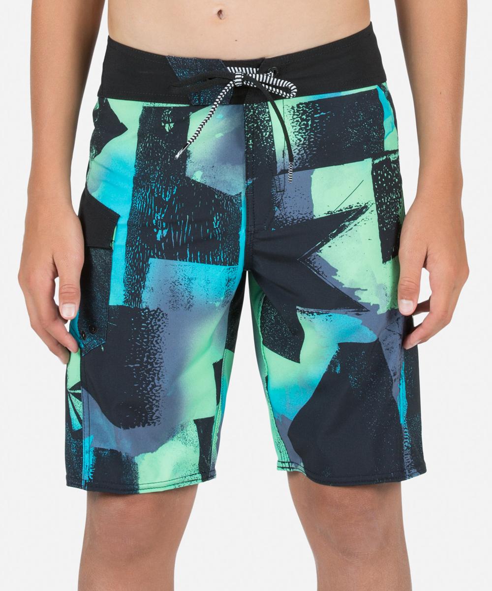 df483c7ad3 Volcom Aqua Costa Paste Up Mod Boardshorts - Boys | Zulily