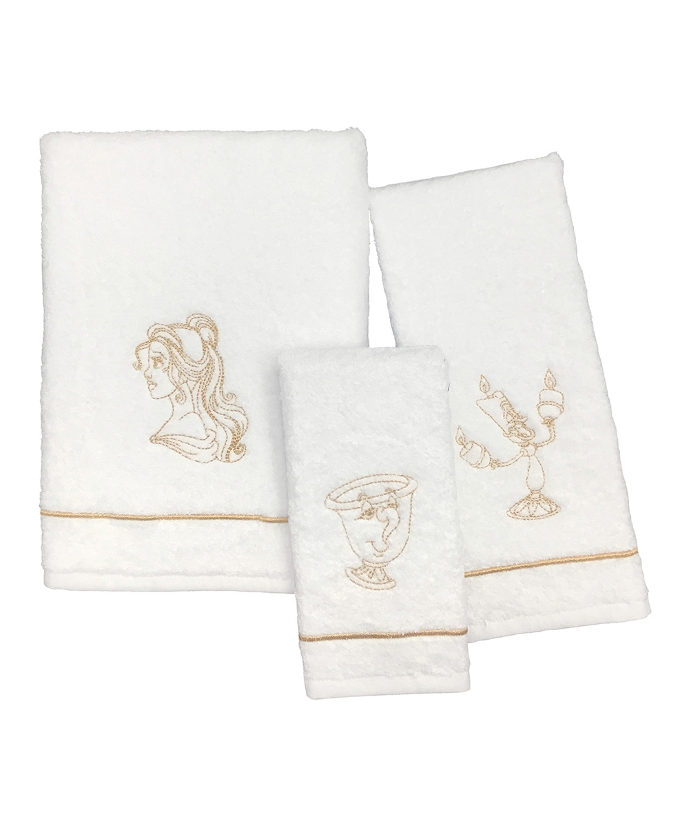 Jay Franco and Sons  Bath Accessories  - Beauty & the Beast Sketch Bath Towel Set