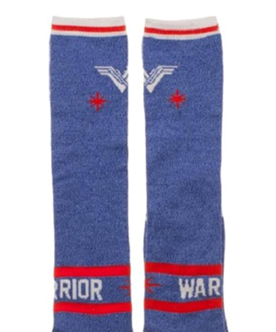 5d8cab586a7 ... Womens Wonder Woman Warrior Knee-High Socks - Alternate Image 2
