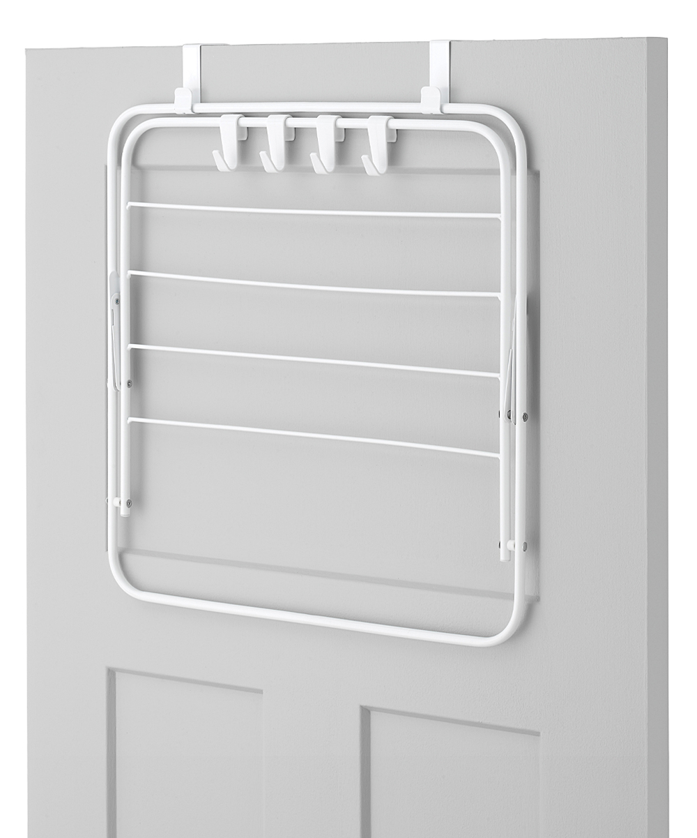 ... White Over Door Drying Rack