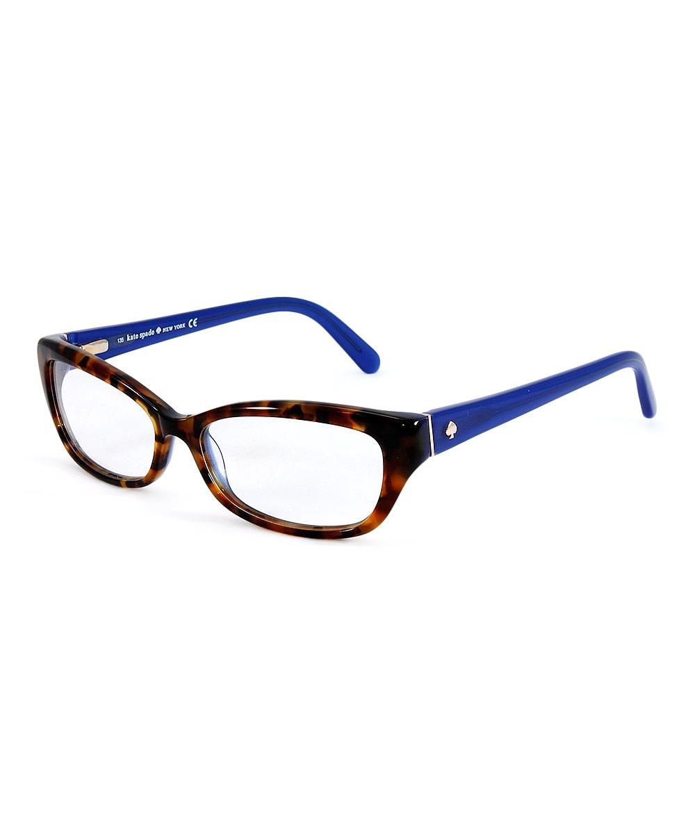 a11ab4d9ffa Kate Spade Blue Havana Catalina Eyeglasses