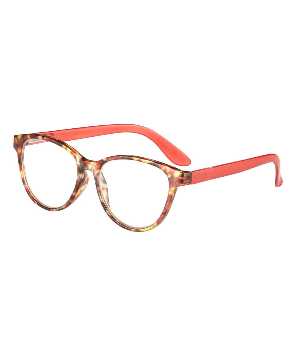 I Heart Eyewear Women's Reading Glasses Orange - Orange & Gold Gardena Readers