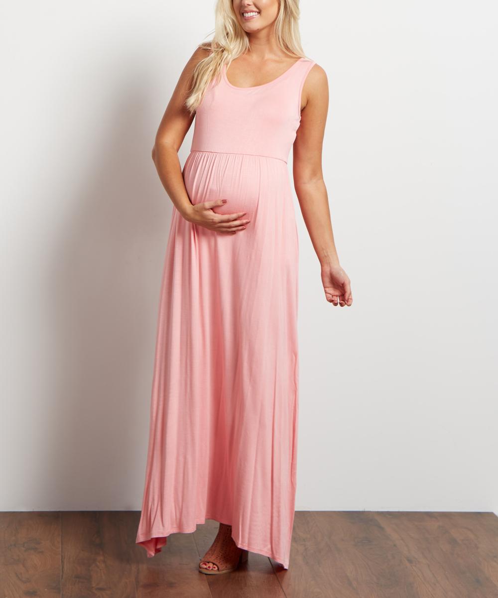 Pinkblush maternity light pink maternity maxi dress zulily light pink maternity maxi dress share share ombrellifo Choice Image