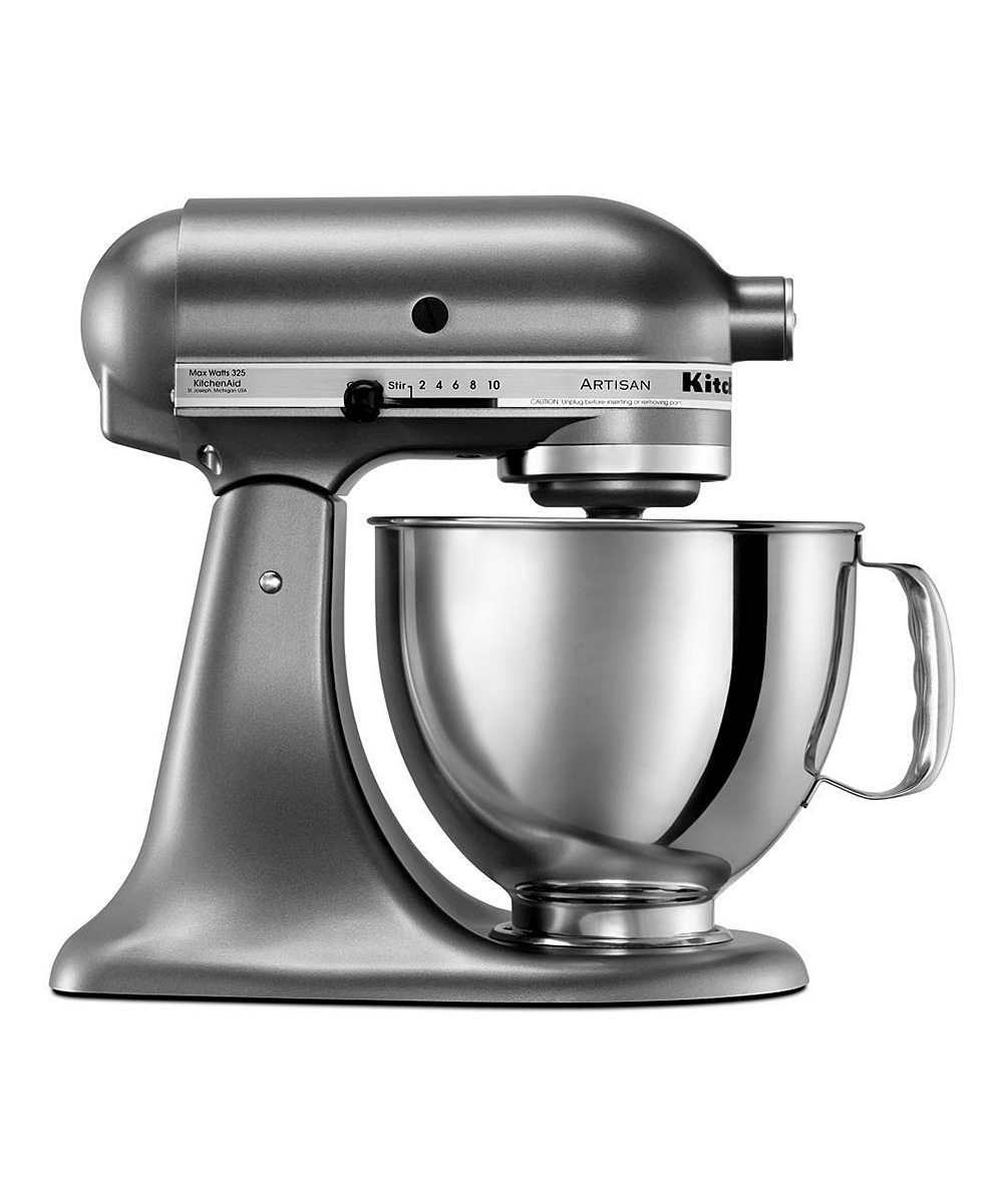 Kitchenaid Liquid Graphite Artisan Series Mixer Zulily