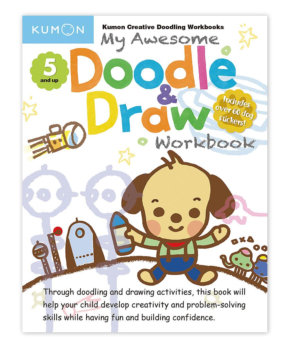Workbooks buy kumon workbooks : Kumon Publishing My Awesome Doodle & Draw Workbook | zulily