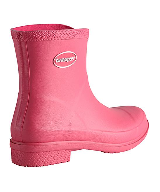 c17c3439f2ca ... Womens ROSE Rose Matte Galochas Low Rain Boot - Alternate Image 4