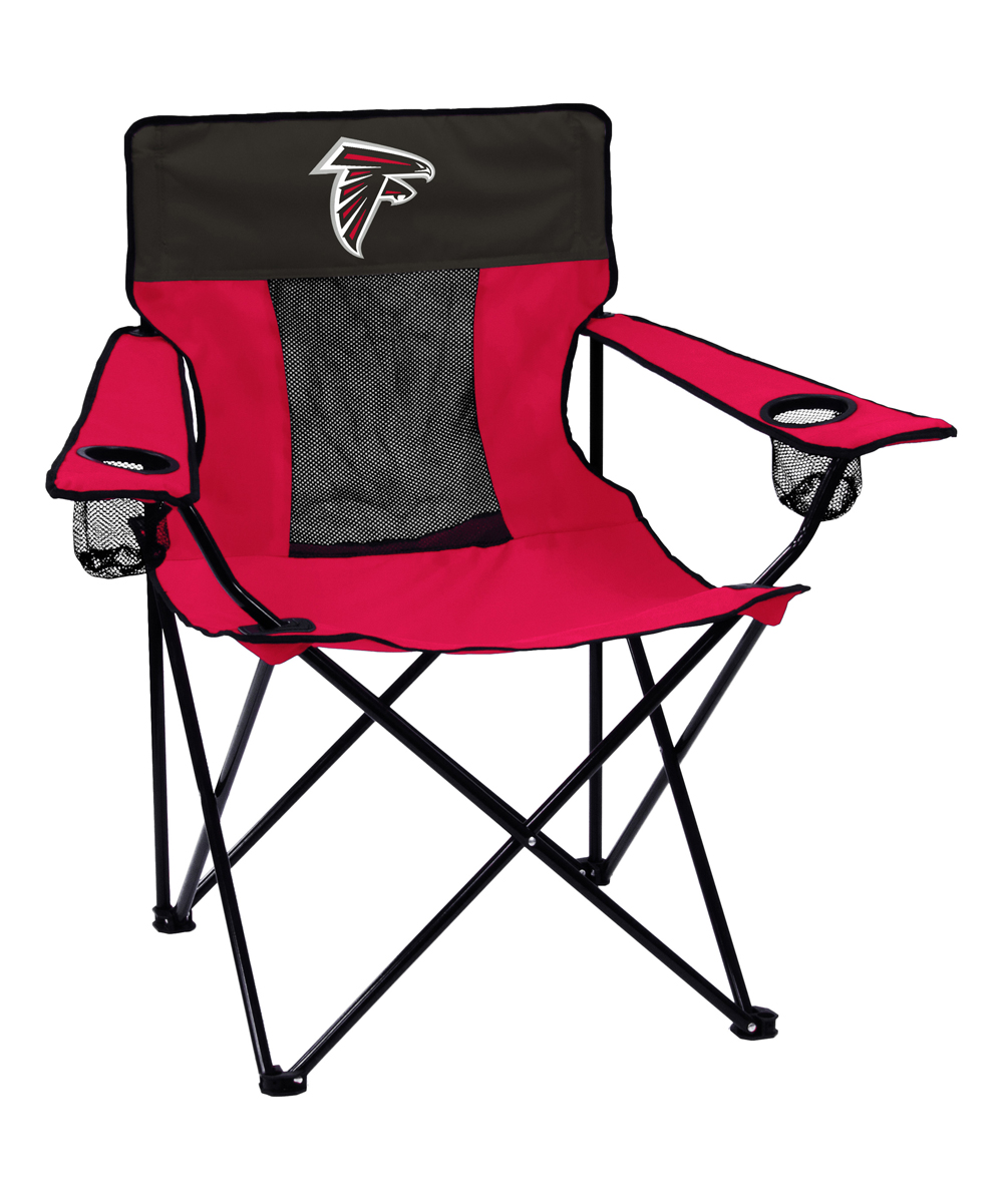 Logo Brands  Camp Furniture Red - Atlanta Falcons Elite Chair