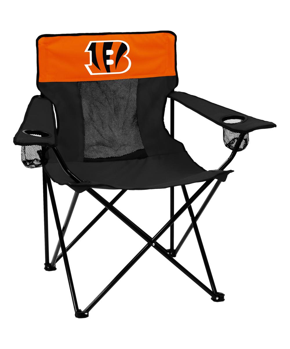 Logo Brands  Camp Furniture Black - Cincinnati Bengals Elite Chair