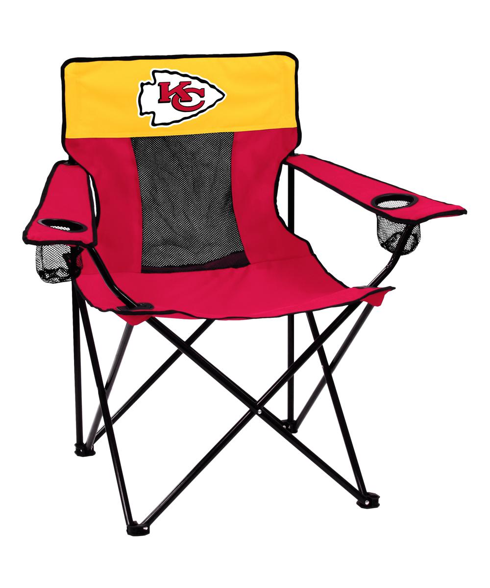 Logo Brands  Camp Furniture Red - Kansas City Chiefs Elite Chair