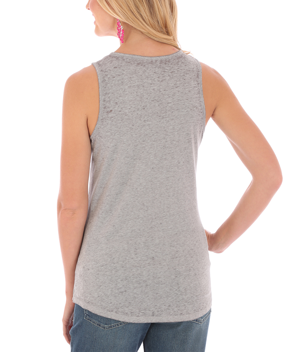 ad4bb074 love this product Gray 'Cuddly as a Cactus' Tank - Women