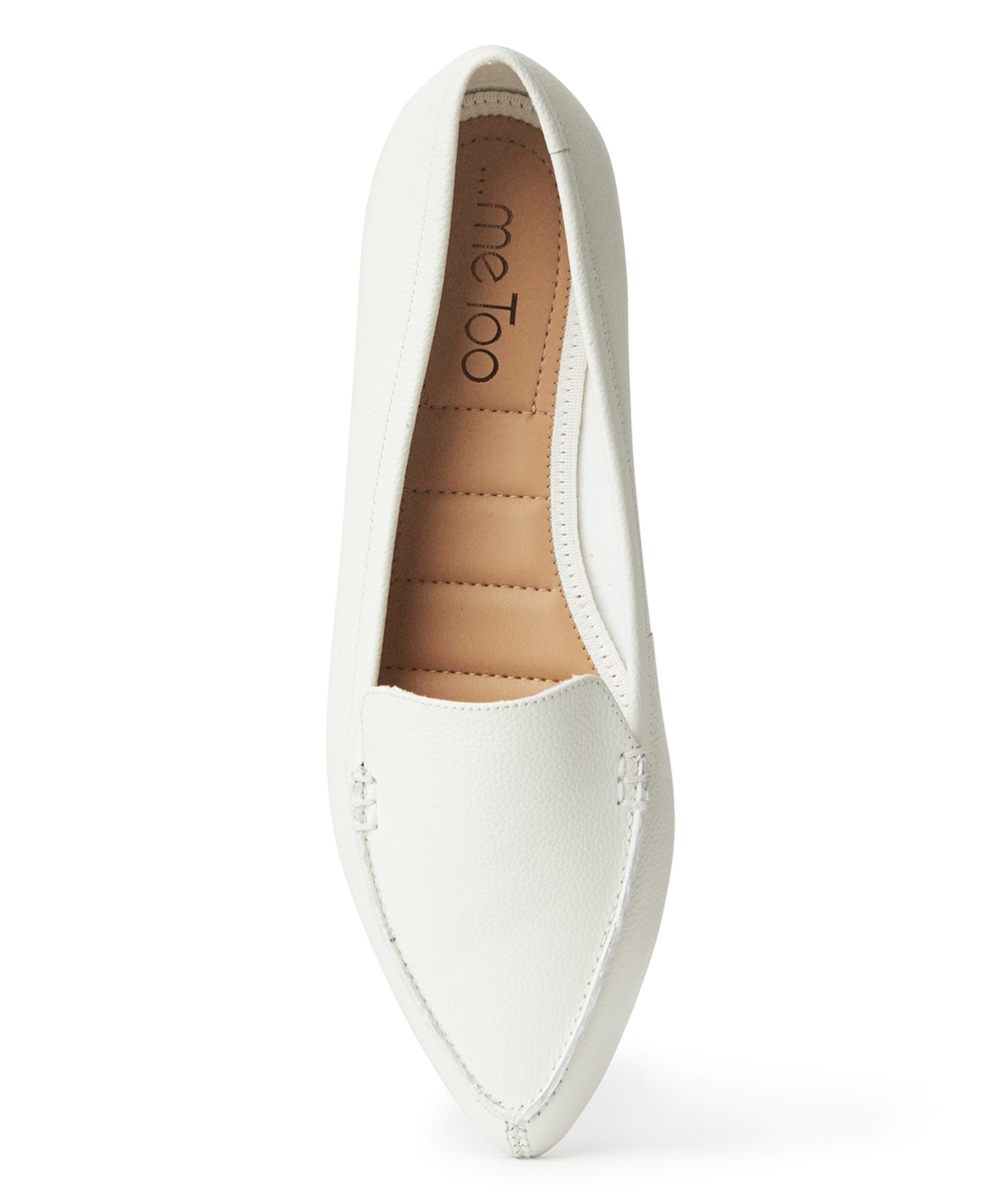 cc652a900de all gone. Cream Audra Leather Loafer