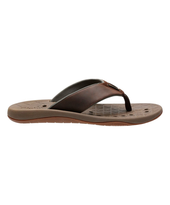 c2ae812053c9 love this product Brown Nubuck Leather Bosun Coast Flip-Flop