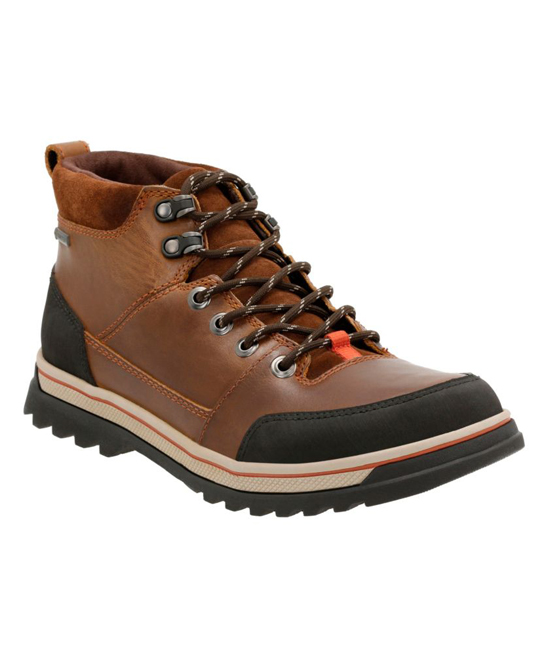 18c297e5f16 Clarks Tobacco Waterproof Ripway Top GTX Rain Boot
