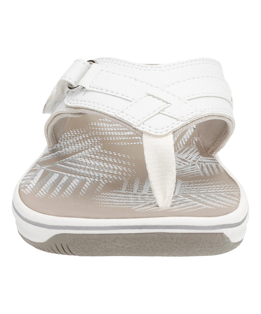 55ad03418041 ... Womens White Synthetic White Breeze Sea Flip-Flop - Alternate Image 3  ...