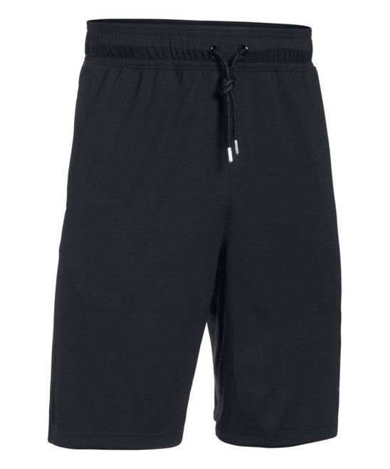 fc44432e77 Under Armour® Black Courtside Cargo Shorts - Mens Regular & Tall ...