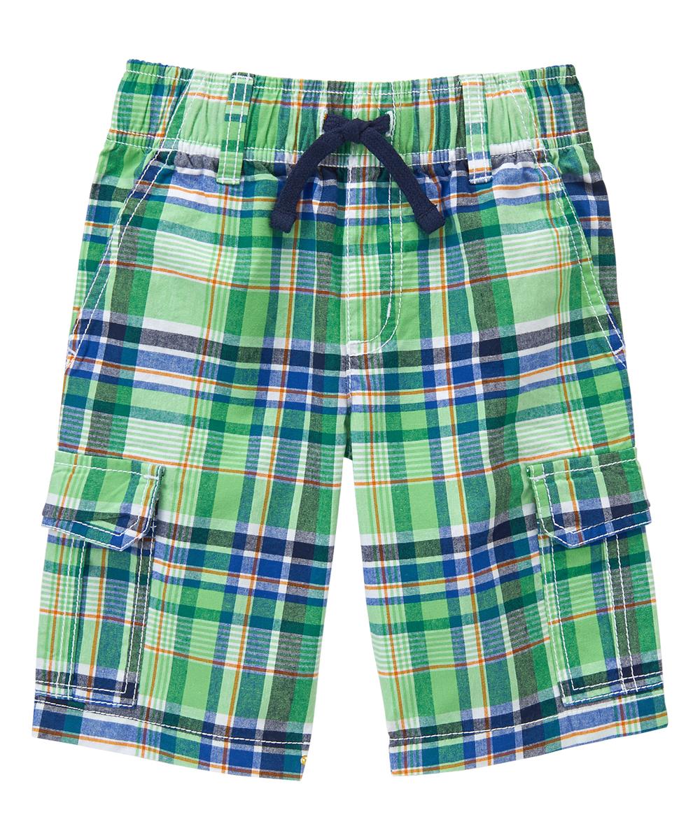 3a52b467d3 Gymboree Jungle Green Plaid Cargo Shorts - Infant, Toddler & Boys ...