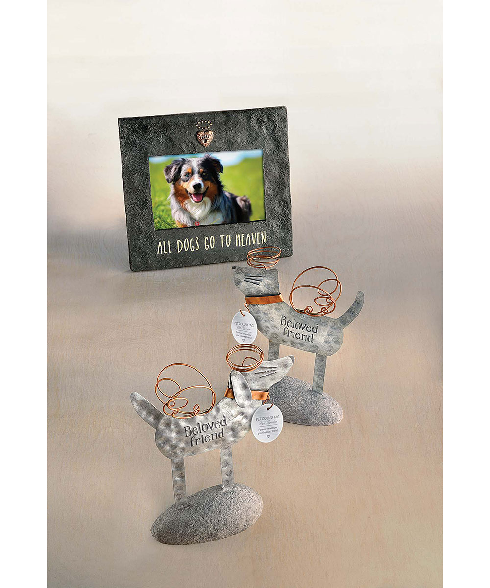 Grasslands Road All Dogs Go To Heaven Heart Frame Zulily