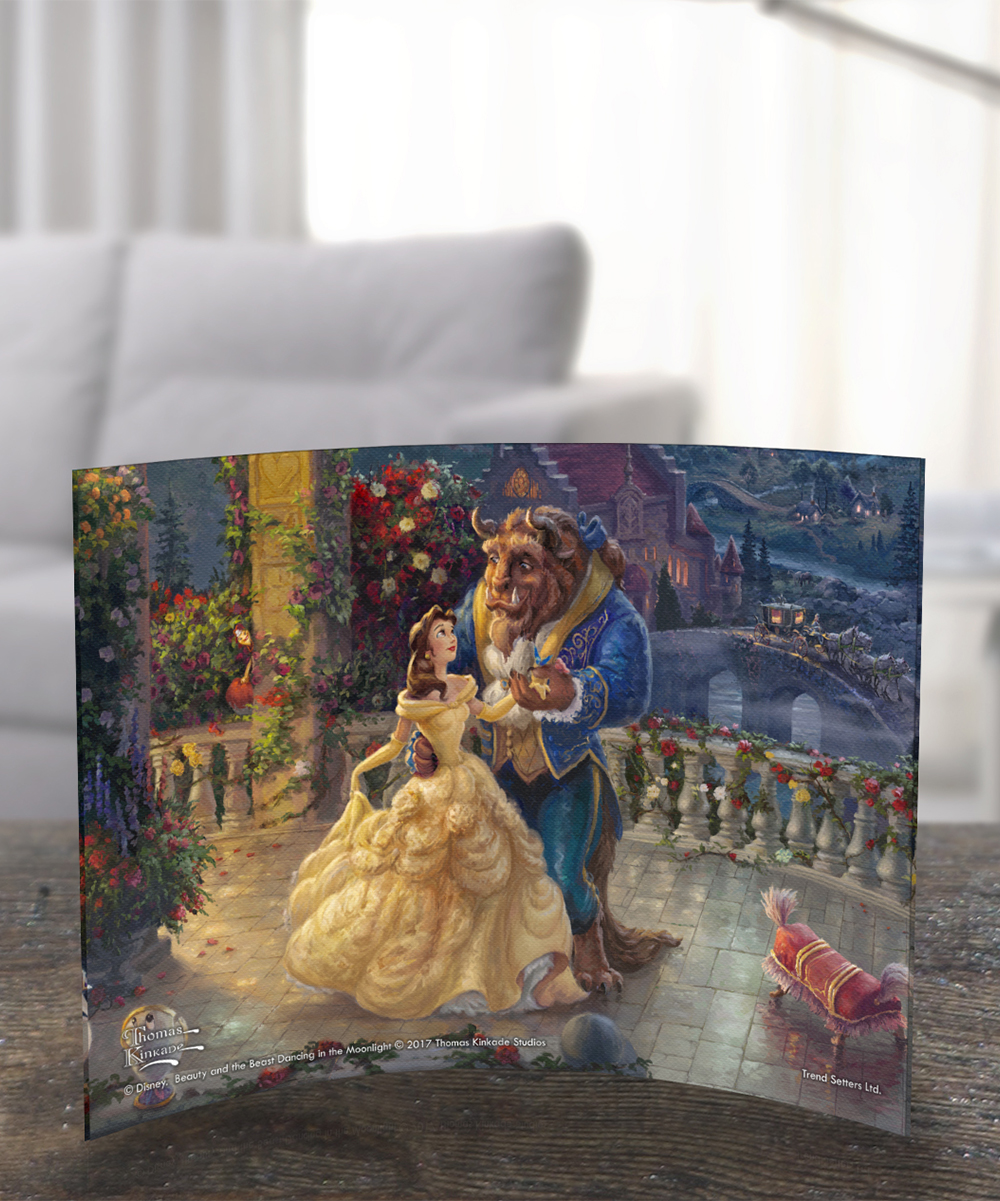 Disney Beauty & the Beast Dancing in the Moonlight Acrylic Print