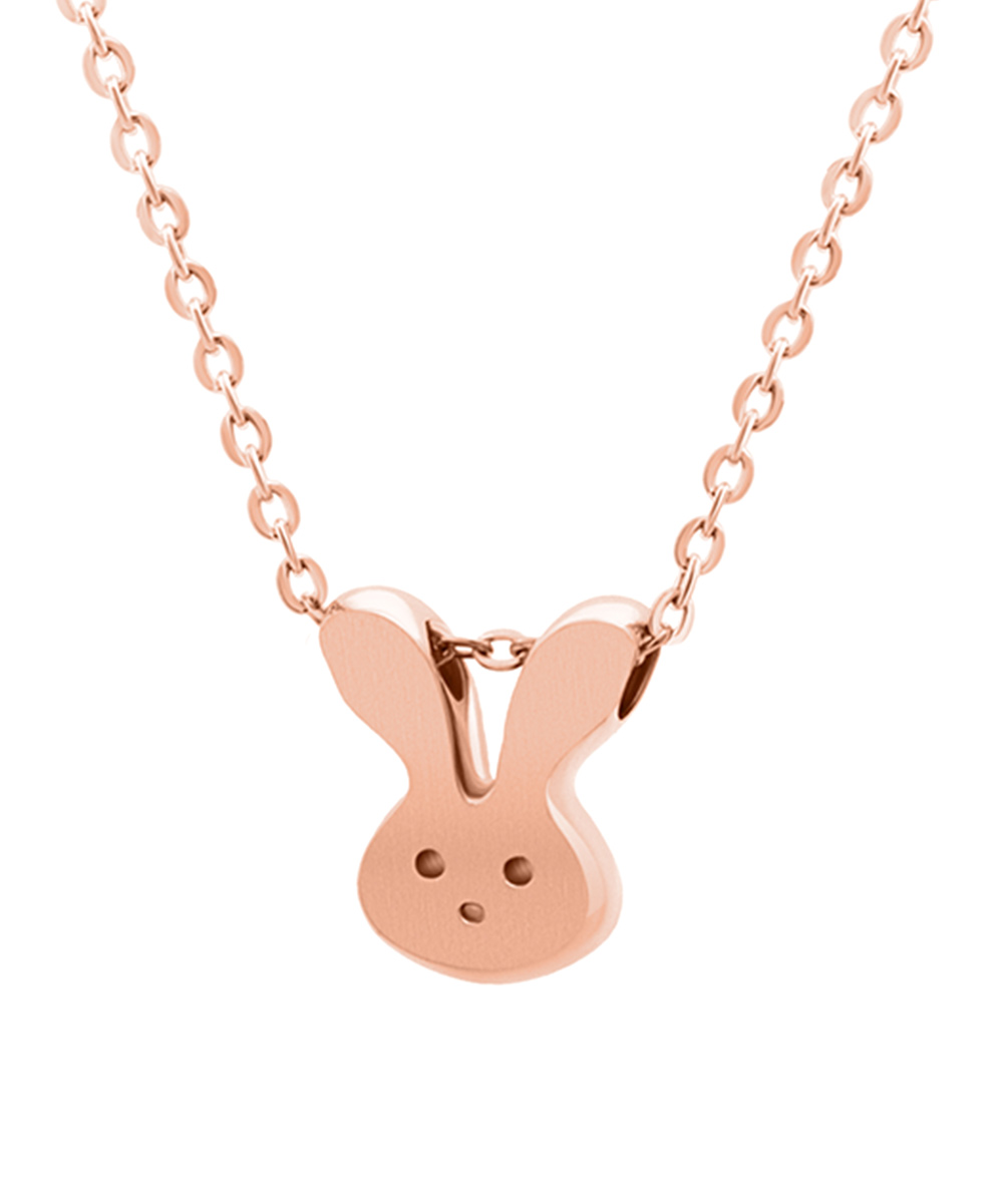 Midori Yamanouchi Rose Goldtone Bunny Pendant Necklace - Girls ...