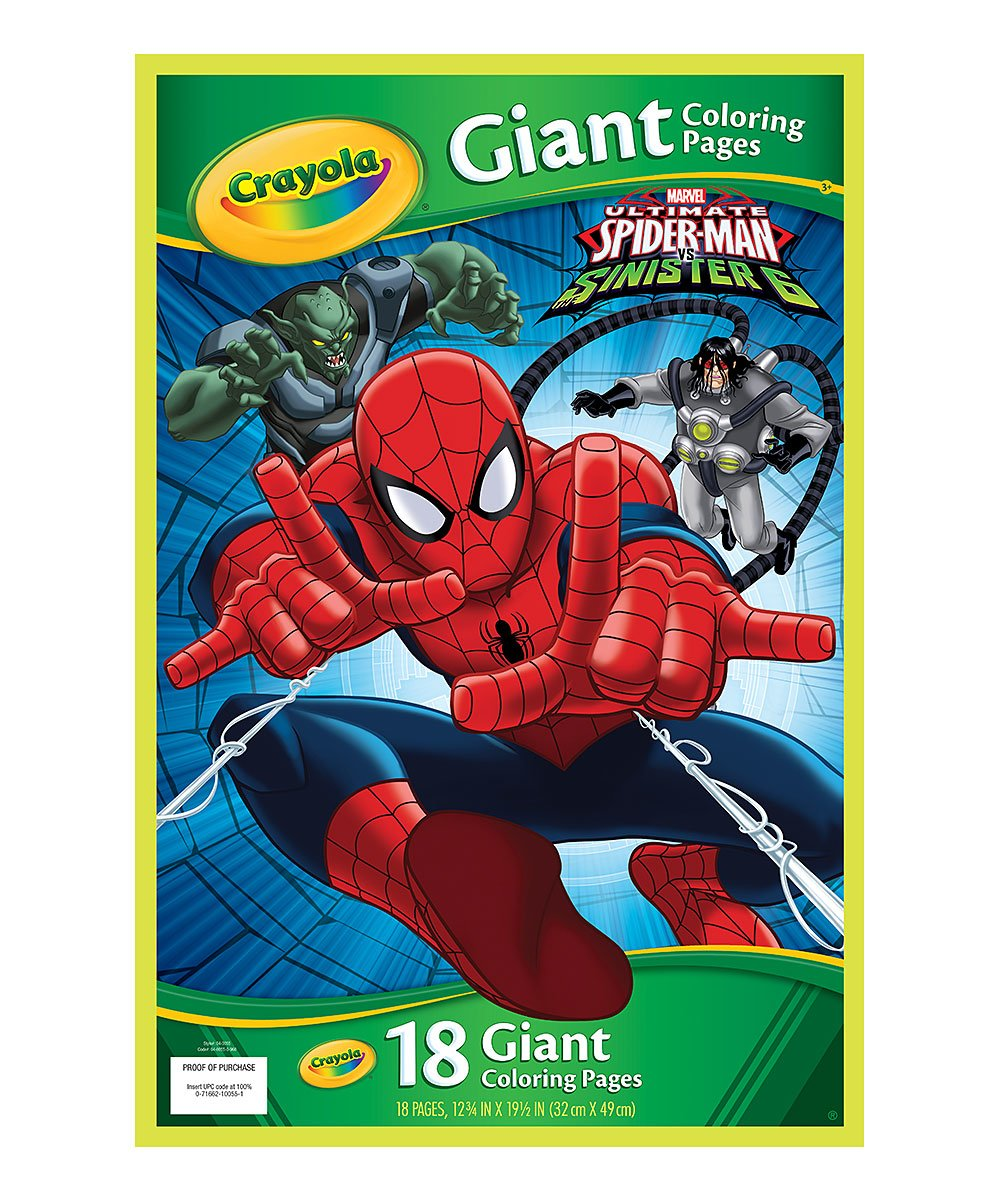 Spider-Man Giant Coloring Pages