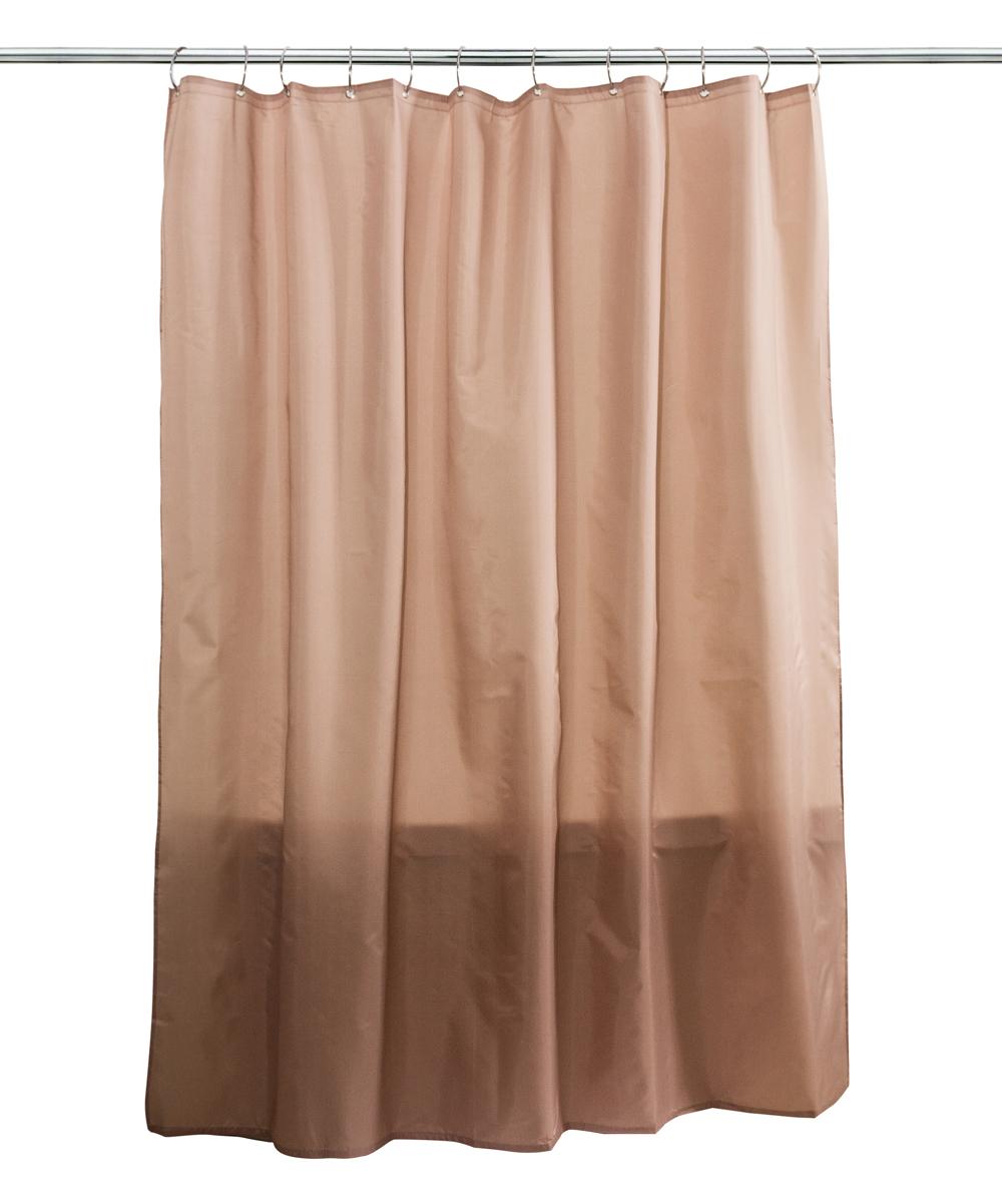 Splash Home Linen Fabric Shower Curtain Liner