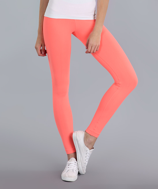 c82f8b372dee5 avocado Electric Pink Day-to-Day Leggings | Zulily
