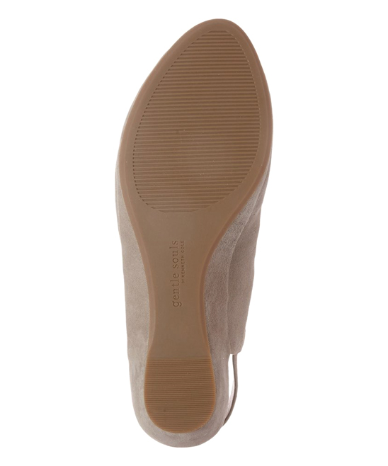 3cbf93e4003 ... Womens Stone Stone Lyla Leather Sandal - Alternate Image 4
