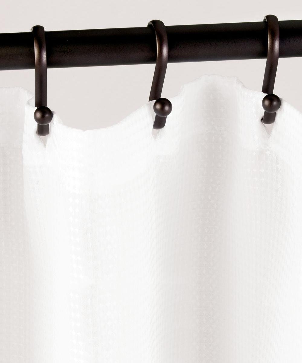 Idesign Bronze Shower Curtain Hook Set Of 12