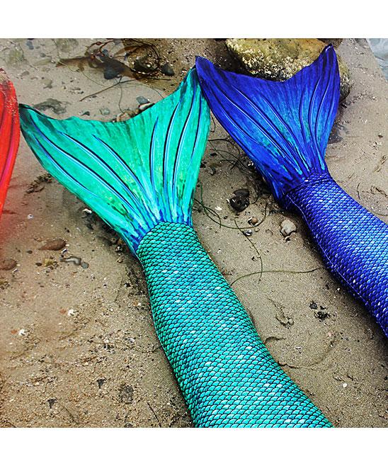 Suntail Mermaids Siren Green Mermaid Tail Monofin Girls Zulily