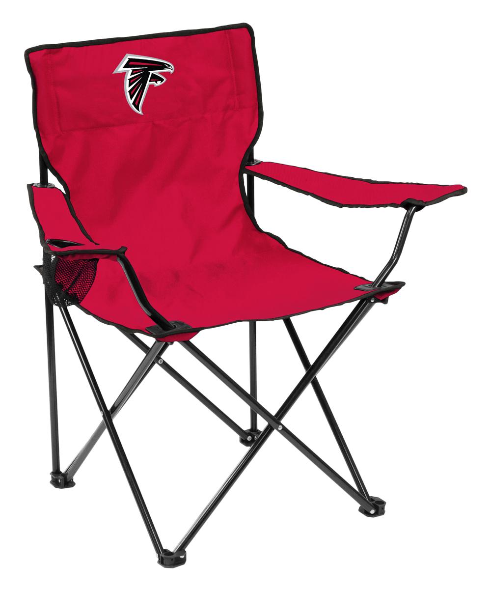 Logo Brands  Camp Furniture Red - Atlanta Falcons Quad Chair