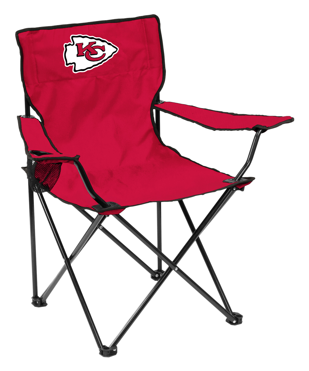 Logo Brands  Camp Furniture Red - Kansas City Chiefs Quad Chair