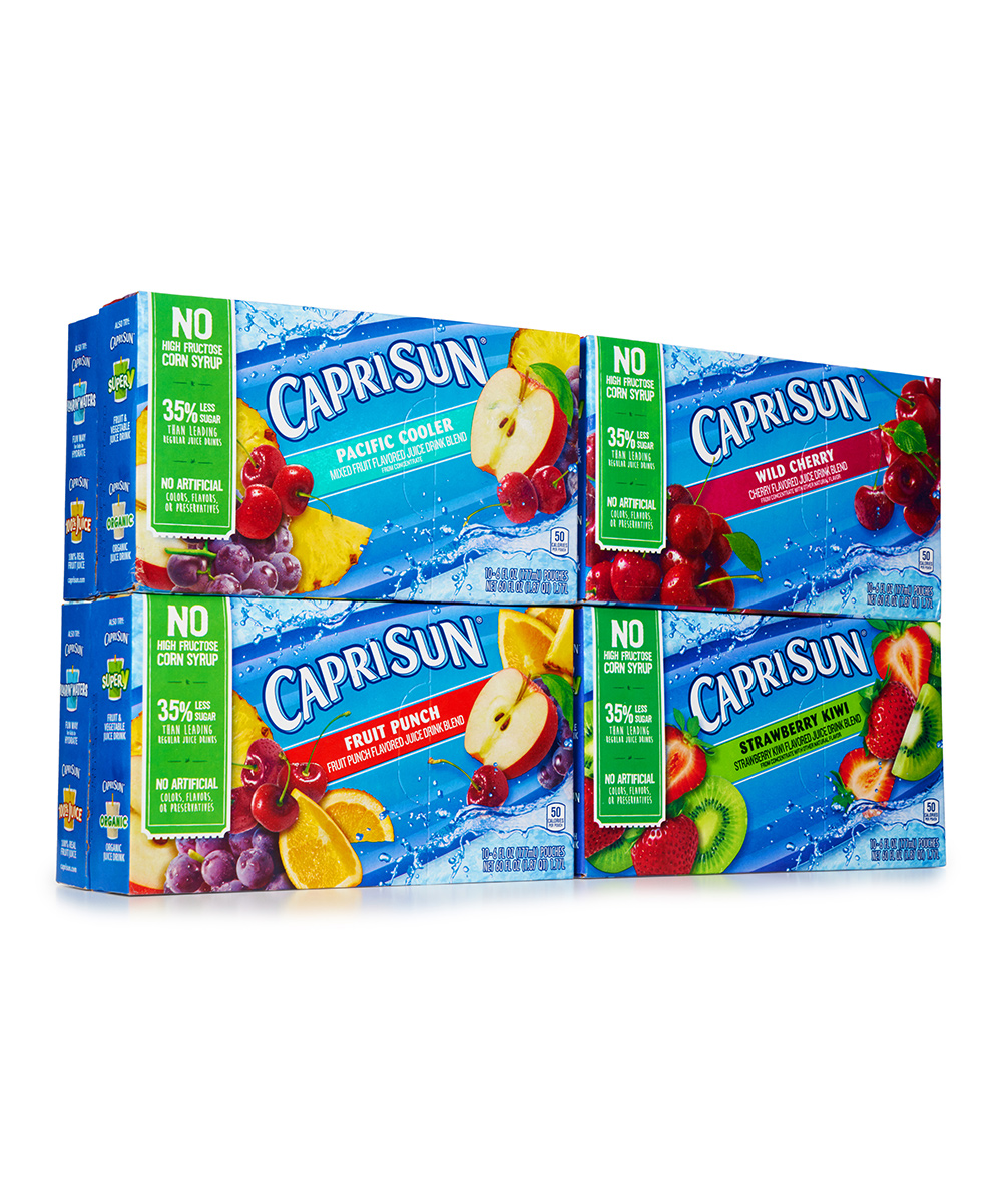 Caprisun  Fruit or Vegetable Juice  - 40-Ct. Juice Variety Pack